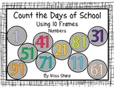 Count the Days With 10 Frames - Numbers