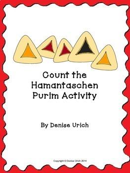 Purim Hamantaschen Counting Activity