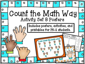 Count the Math Way Activities & Posters on