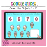 Count the Objects 1 to 10 Google Slides™ Activity