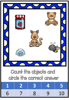 Count the Objects Challenge Activity Pack