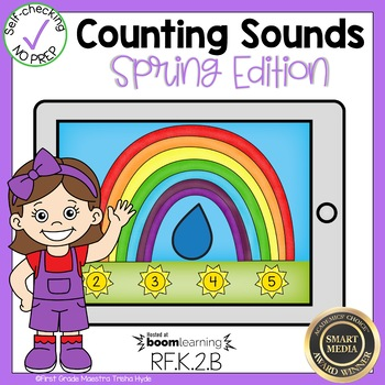 Boom Cards Counting Sounds Phonemes
