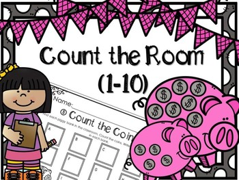 Count the Room 1-10~ Anytime Math Center