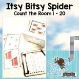Itsy Bitsy Spider Count the Room 1-20