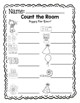 Count the Room - 100th Day Edition