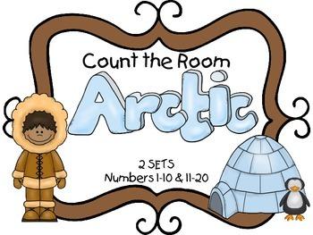 Count the Room - Arctic {K.CC.A.3 & K.NBT.A.1}
