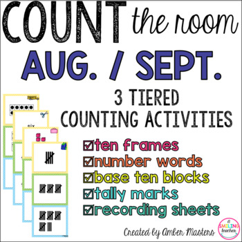 Count the Room August & September
