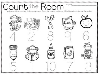 Count the Room for Little Learners BUNDLE
