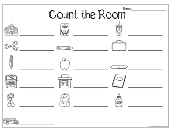 Count the Room- Back to School