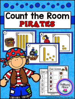 Count the Room: Base Ten Blocks - Pirates