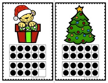 Count the Room – CHRISTMAS Math – Ten Frames and Numbers 11 - 20