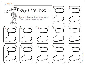 Count the Room - Christmas