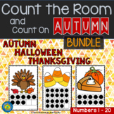 Count the Room + Count On  AUTUMN - HALLOWEEN - THANKSGIVING {FALL BUNDLE}