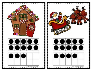 Count the Room + Count On – SNOWMAN - CHRISTMAS – WINTER KIDS {WINTER BUNDLE}