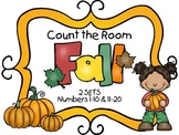 Count the Room - Fall / Autumn {K.CC.A.3 & K.NBT.A.1}
