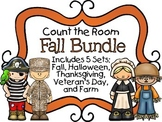 Count the Room - Fall BUNDLE {K.CC.A.3 & K.NBT.A.1}