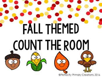 Write the Room- Counting Fall Edition!