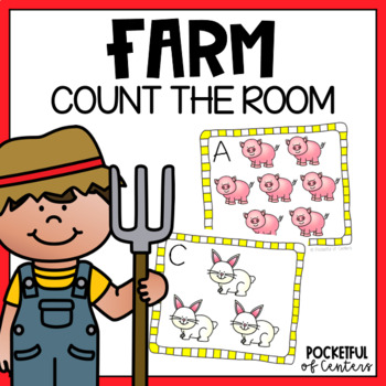 Count the Room - Farm Animals