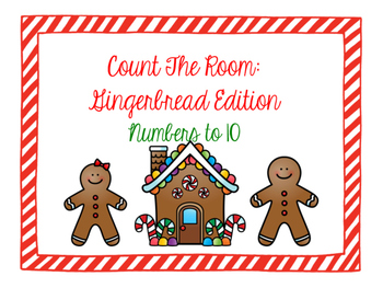 Count the Room: Gingerbread Edition Numbers to 10