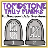 Halloween Count & Write the Room 1-10 Tally Marks Kinderga