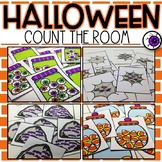 Count the Room Halloween Activity for Kindergarten