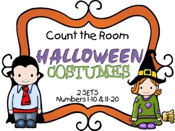 Count the Room - Halloween {K.CC.A.3 & K.NBT.A.1}