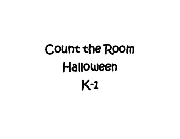 Count the Room - Halloween Theme!