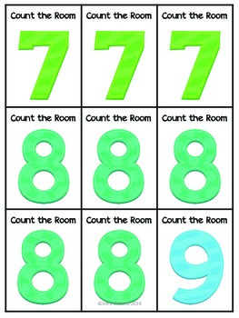 Count the Room:  Number Edition