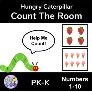 Count the Room Numbers 1-10 - Hungry Caterpillar