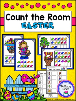 Count the Room: Numbers 1-10 and 11-20 - Easter