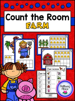 Count the Room: Numbers 1-10 and 11-20 - Farm