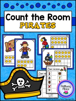 Count the Room: Numbers 1-10 and 11-20 - Pirates