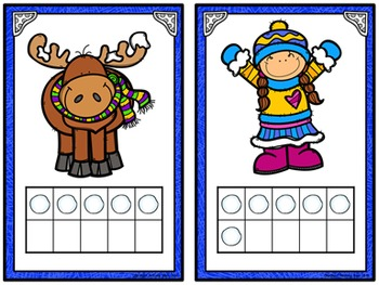 Count the Room: Numbers 1-10 and 11-20 - Winter