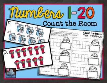 Count the Room {Numbers 1-20}