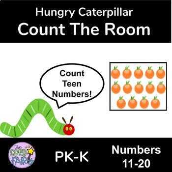 Count the Room Numbers 11-20 - Hungry Caterpillar