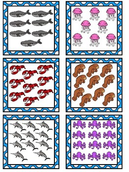 Count the Room - Ocean Animals