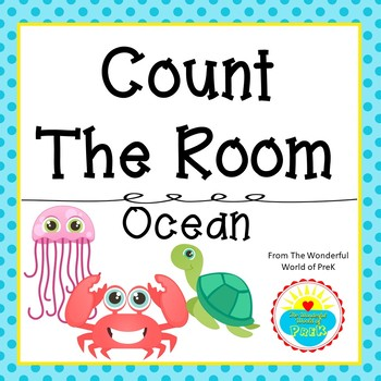 Count the Room - Ocean Sea Animals - Differentiated