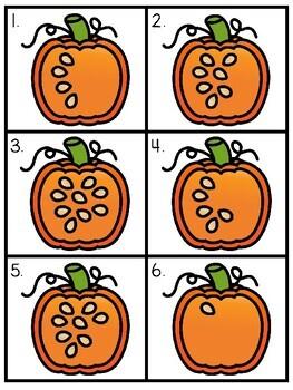 Count the Room: Pumpkins (Math Center)