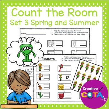 Count the Room Set 3 Spring and Summer
