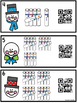 Count the Room Snowman Tally Marks 1-20 QR Code Ready
