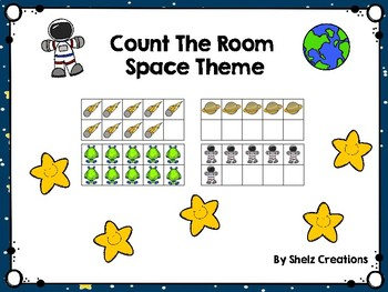 Count the Room - Space Theme