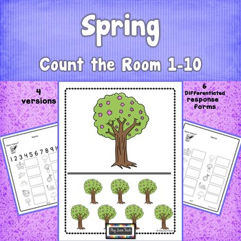 Spring Count the Room 1-10