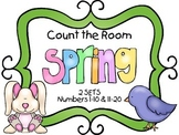 Count the Room - Spring {K.CC.A.3 & K.NBT.A.1}