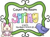 Count the Room - Spring {K.CC.A.3 & K.NBT.A.1}