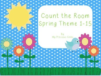 Count the Room Spring theme