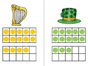 Count the Room - St. Patrick's Day {K.CC.A.3 & K.NBT.A.1}