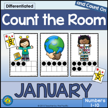 January Math Center: Count the Room 1 - 10