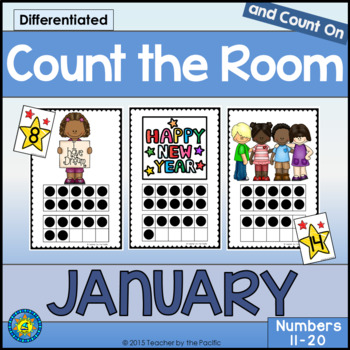 Count the Room – Ten Frames and Numbers 11 - 20 {JANUARY}
