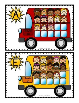 Count the Room – Ten Frames and Numbers 11 - 20 {SCHOOL BUS}