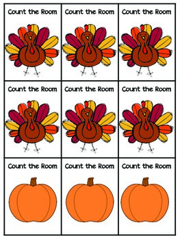 Count the Room: Thanksgiving Edition